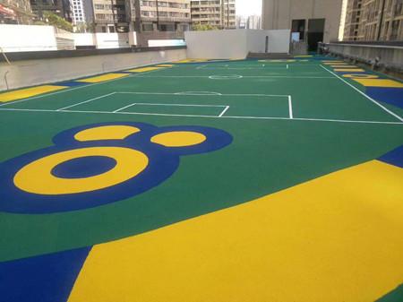 重庆硅PU球场和重庆丙烯酸球场区别是什么?